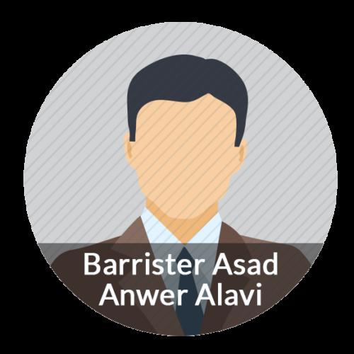 Barrister Asad Anwer Alavi