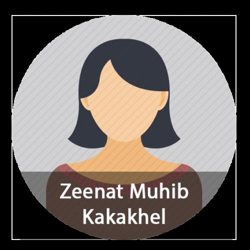Zeenat Muhib Kakakhel Advocate